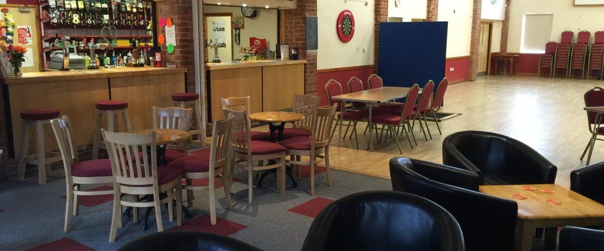 Bar Facing Hall Homepage Slider
